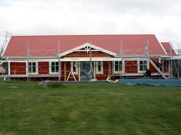 Bygge av hus